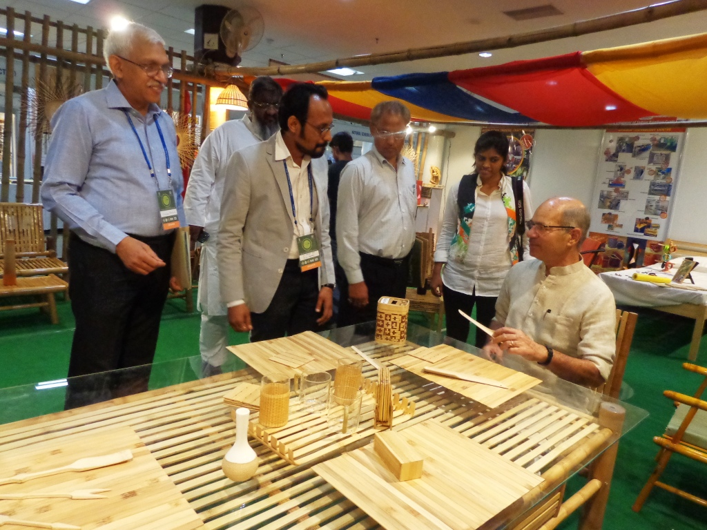 image of Global Bamboo Summit, eminent visitors
