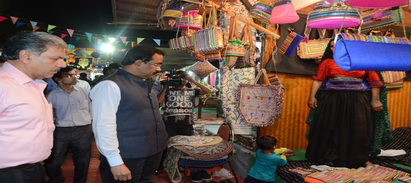Exhibition Cum Sale Of Mega Cluster Products At Dilli Haat Ina Market