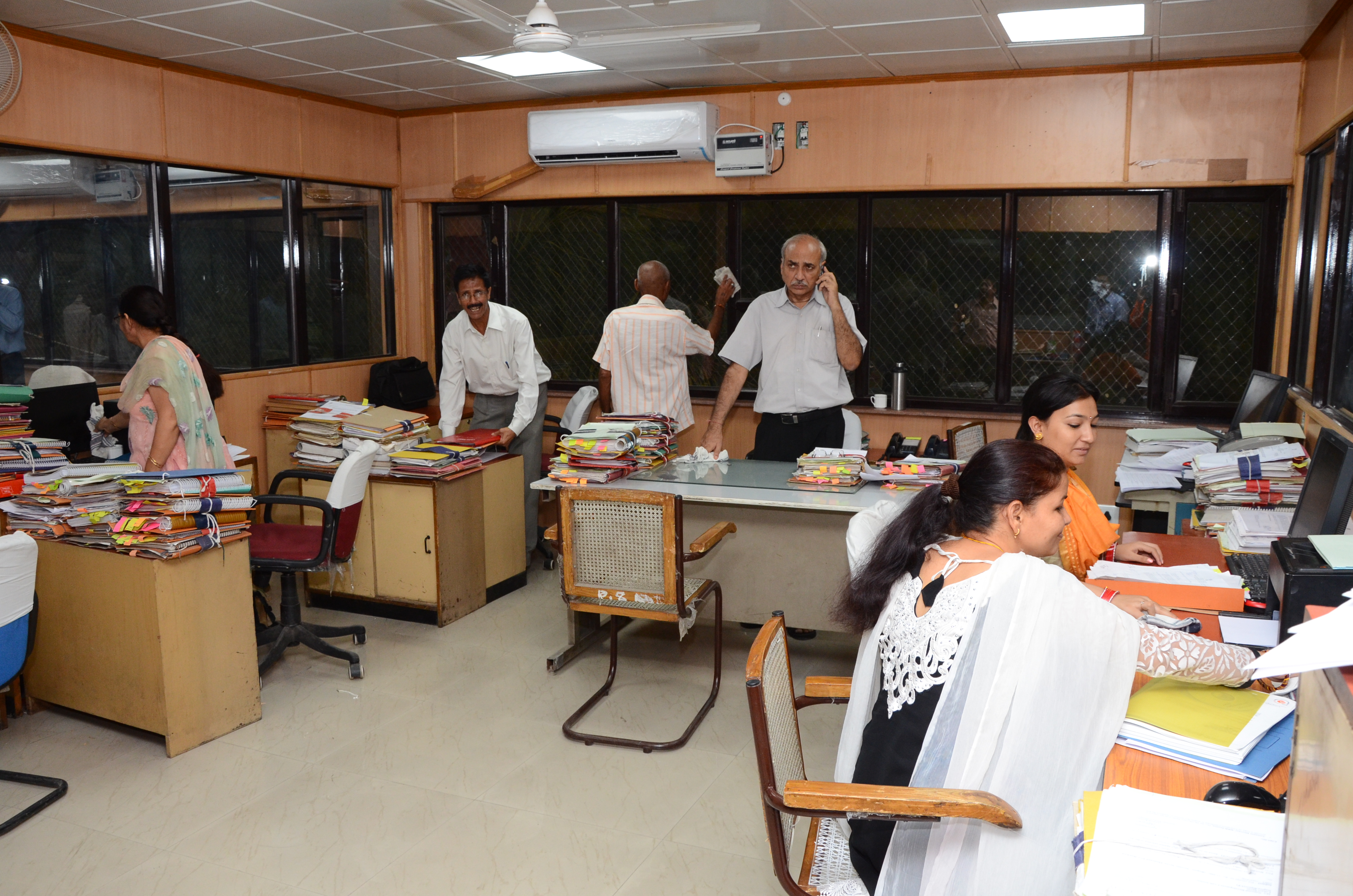 Swachh Bharat Abhiyan At Office Of Development Commissoner