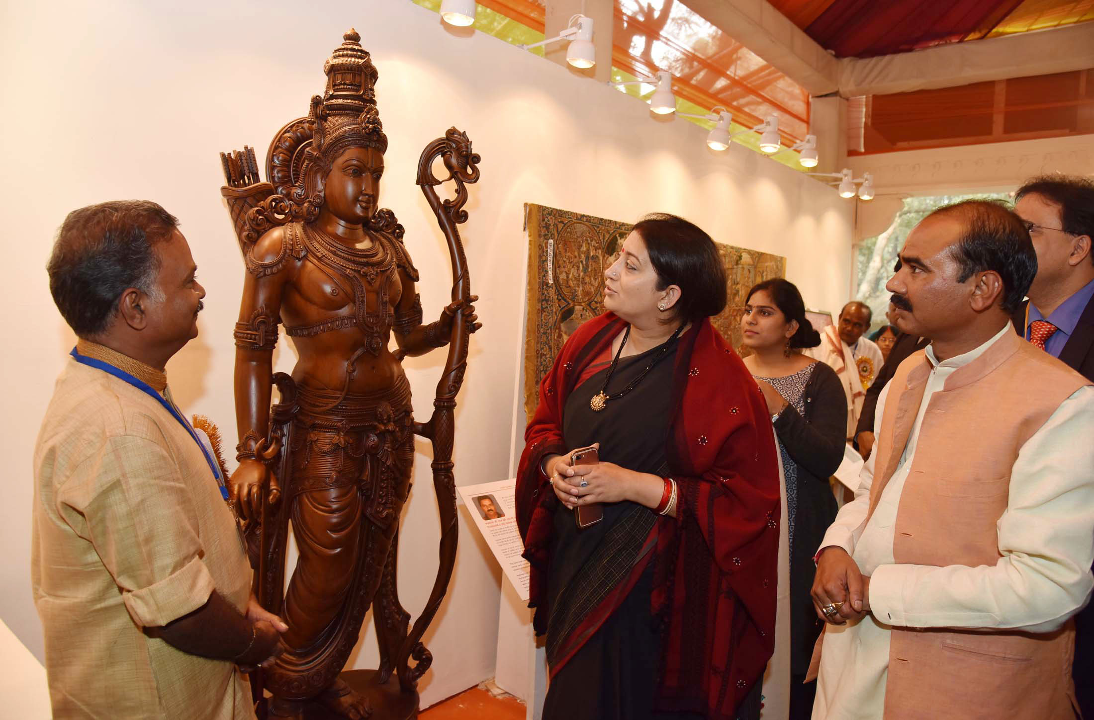 The Hon Ble Minister Of Textiles Smt Smriti Zubin Irani Inaugurated