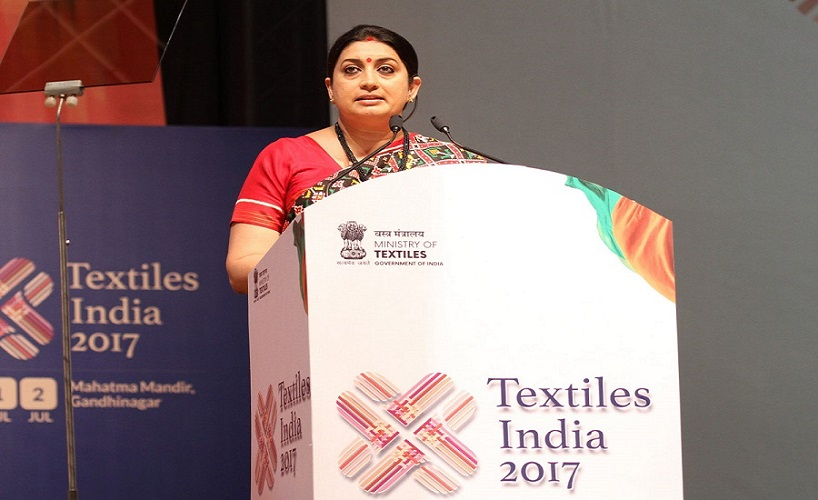 image of Inauguration ceremony of the Textiles India 2017, in Gandhinagar, Gujarat on June 30, 2017.