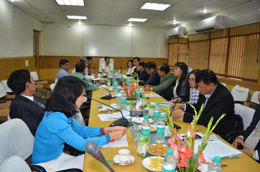 Image of  Meeting of high level delegation from Ministry of Industry and Trade, Vietnam at O/o. DC(H) on 4th September 2017